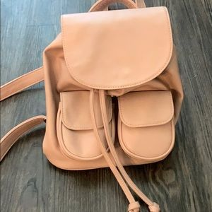 Handbags - CUTE LIGHT PINK BACKPACK PURSE